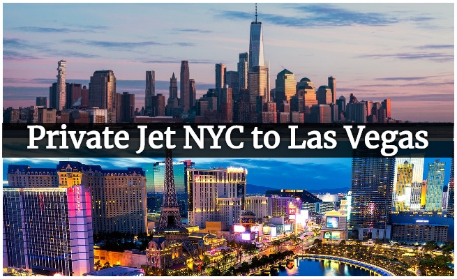 private jet from New York to Las Vegas