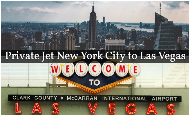 Private Jet NYC to Vegas