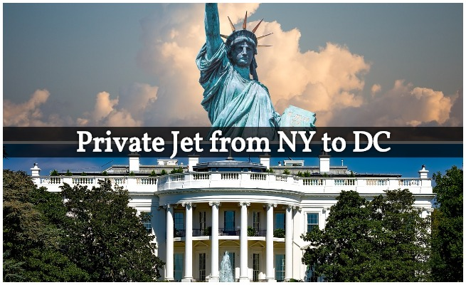 Private Jet from New York to DC