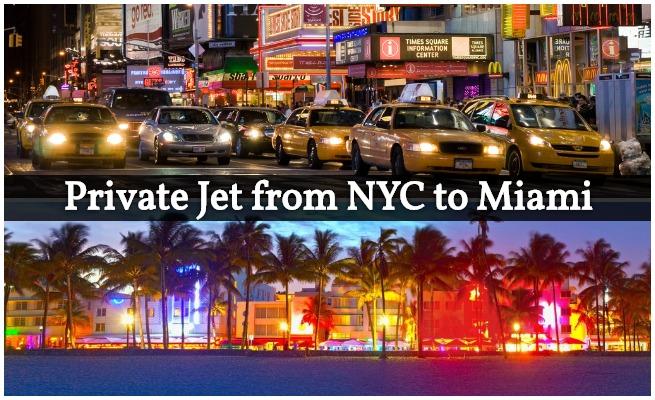 private jet new york to miami