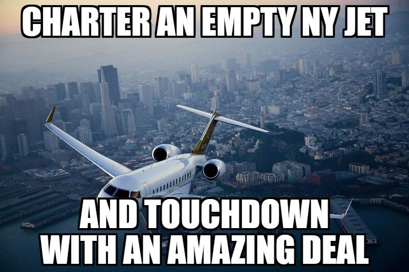 empty leg deals new york