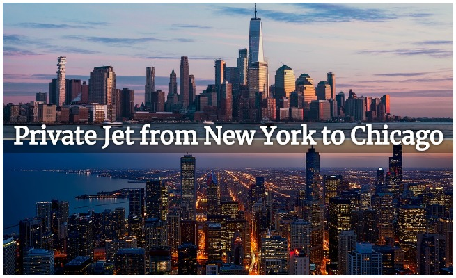 private jet new york to chicago
