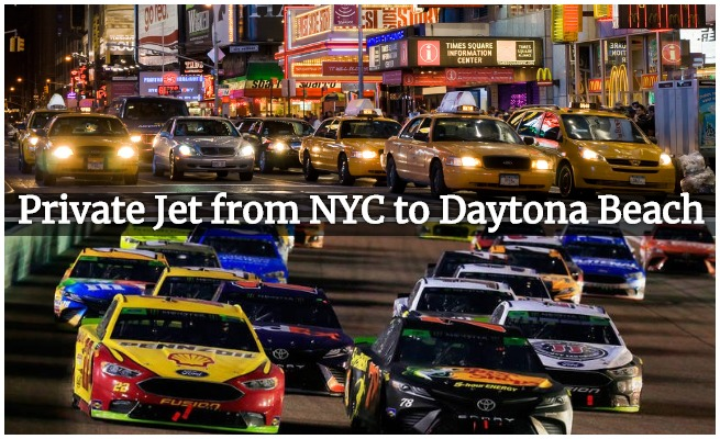 NYC to daytona