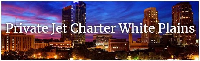 White Plains jet charter