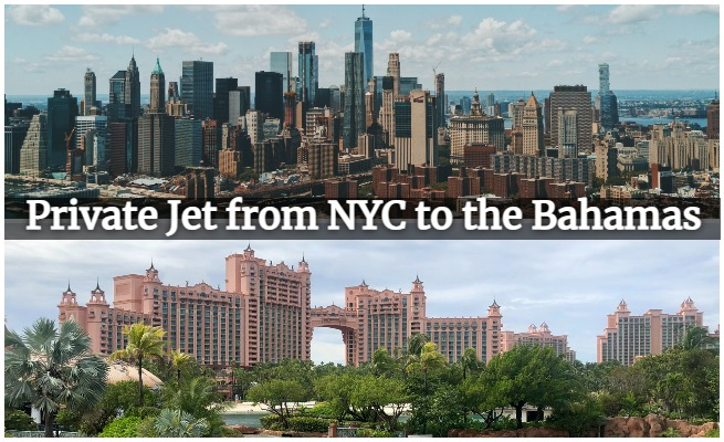 private jet new york to bahamas