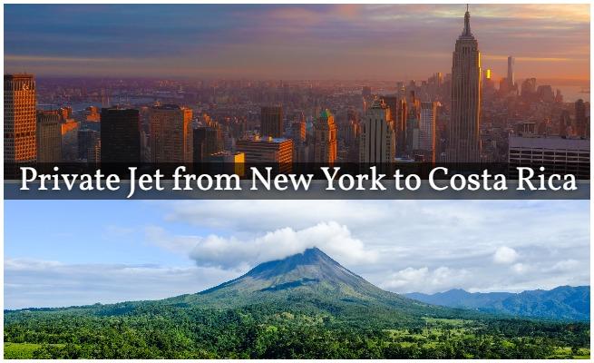 New York to Costa Rica